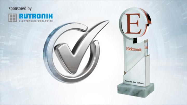 Elektronik Pokal Produkt des Jahres sponsored by rutronik