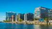 Blick auf die Hamburger Hafencity.