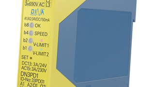Für Antriebe ohne Feedbacksystem:  Sensorlose Drehzahlüberwachung