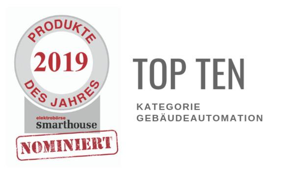 Produkte des Jahres 2019: Top Ten Gebäudeautomation