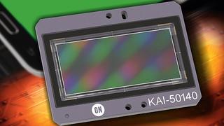 Inspektion von Smartphone-Displays:  Bildsensor mit 50Megapixel