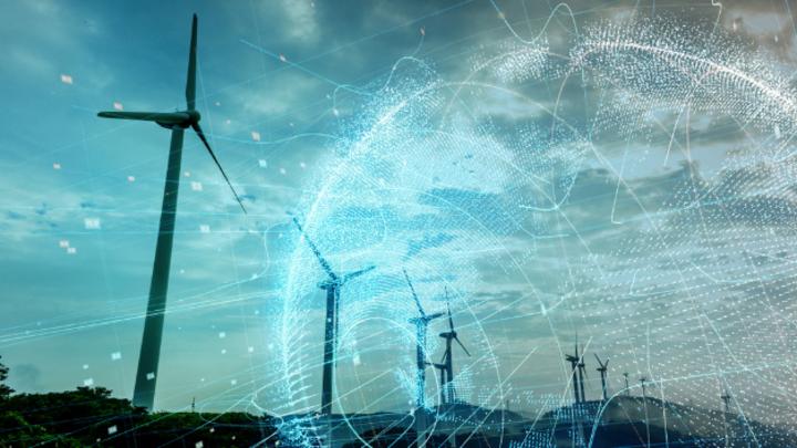 Windkraftanlagen benötigen Batteriespeicher zur Stabilisierung des Stromnetzes.