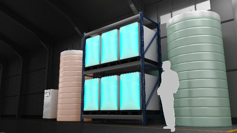 Für Organic-Flow-Batterien gibt es vielseitige Einsatzmöglichkeiten, unter anderem für die Zwischenspeicherung von erneuerbaren Energien.