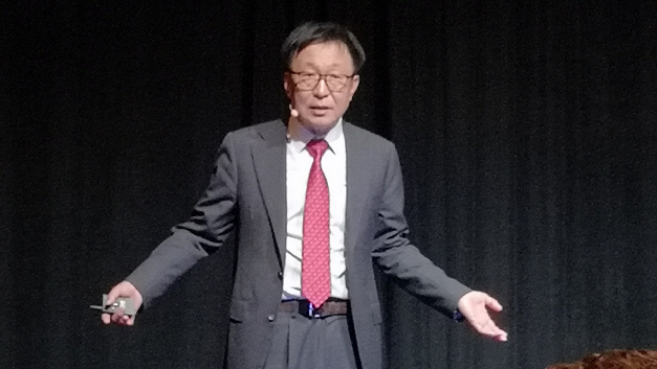 E.S. Jung, Foundry-Chef von Samsung tritt für offene Industriekooperationen ein.