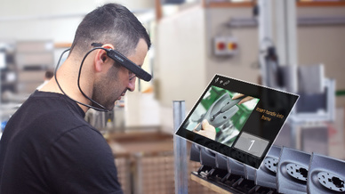 Augmented Reality Industrie 4.0 Ubimax