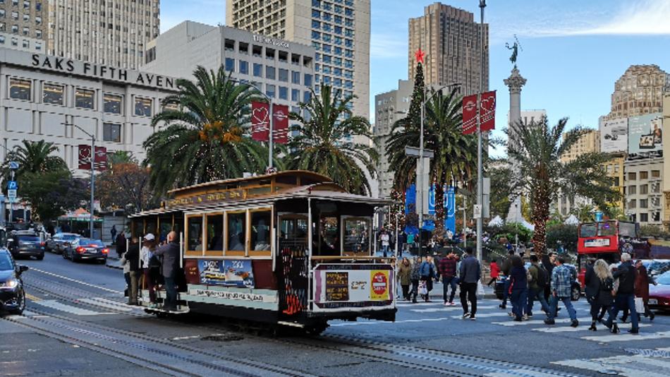 Unweit des Union Square in San Francisco findet alljährlich die IEDM statt.