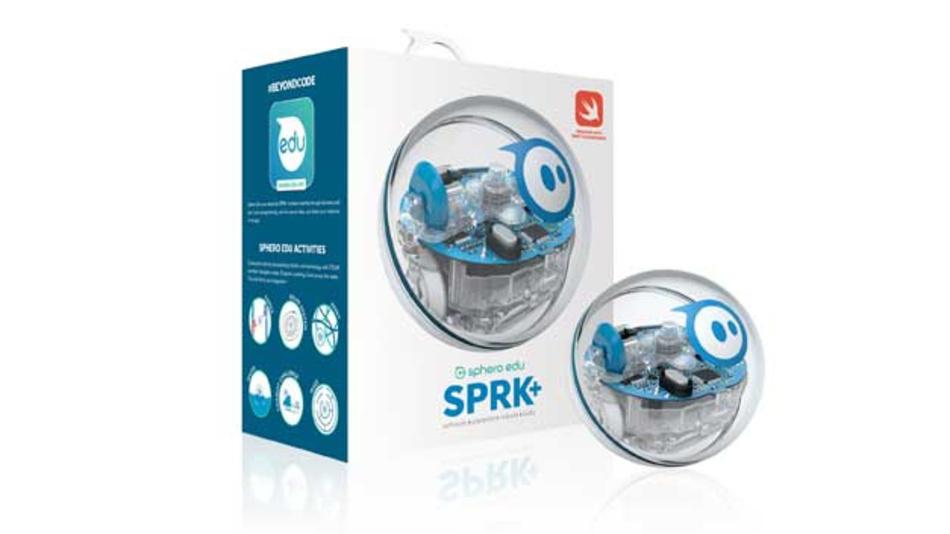 Der Roboter SPRK+ soll Kreativität und Erfindergeist fördern.