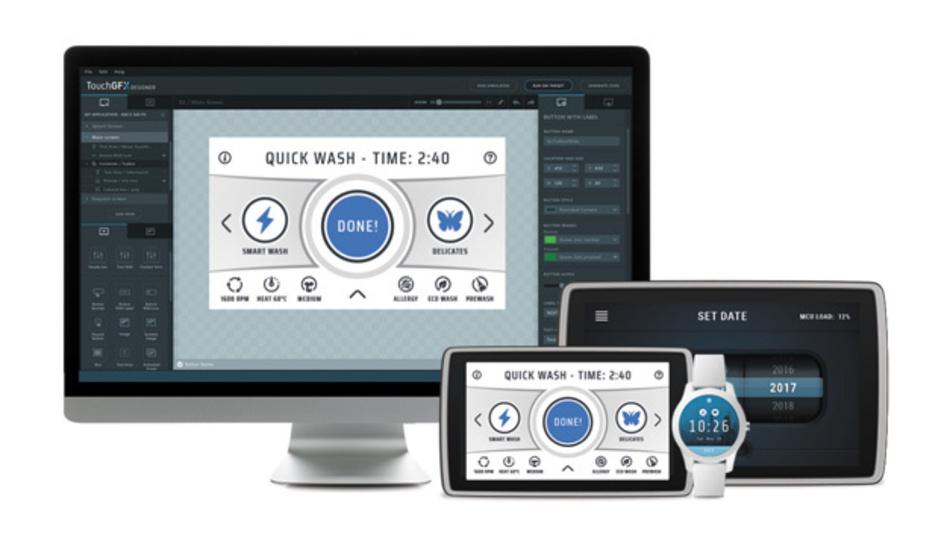 Werkzeug für grafische Benutzeroberflächen jetzt kostenfrei in der Entwicklungsumgebung STM32Cube integriert