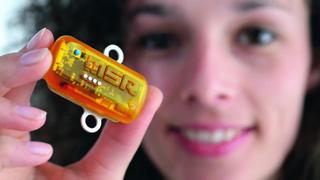 Mini-Datenlogger zur Transportgutüberwachung mit 5.000 Messpunkten pro Sekunde von MSR.