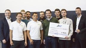 Die Gewinner des 'Automation Hackathon' 2018'