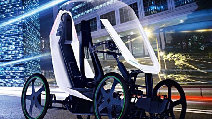 Auf der CES 2019 feiert der Bio-Hybrid von Schaeffler seine Premiere.