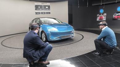 Microsoft HoloLens in der Ford-Entwicklung