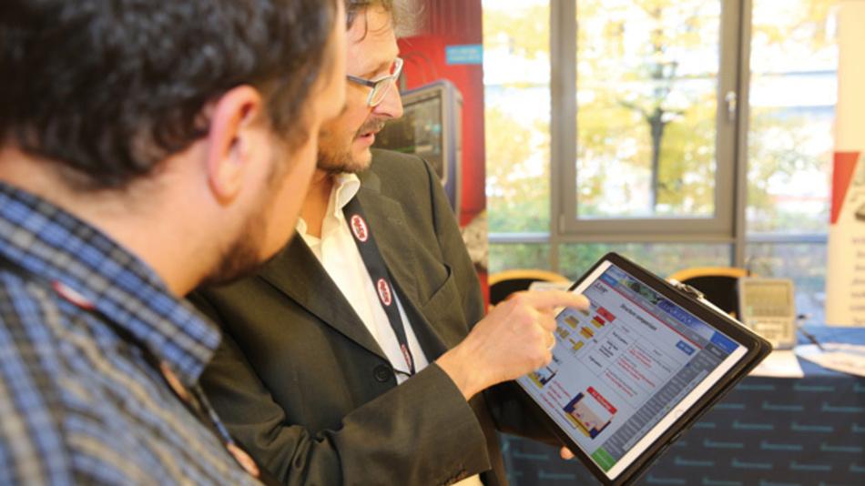 Informationen aus erster Hand erhielten  die Teilnehmer des Anwenderforums  an den Infoständen der Aussteller.