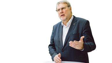 Heinrich Munz im Gespräch