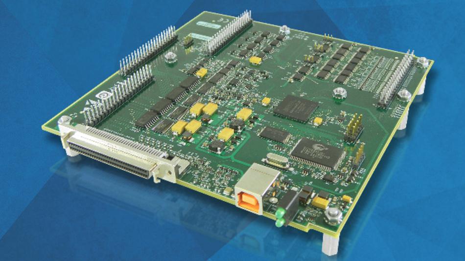 Highspeed-USB-Messkarte für OEM- und Embedded-Anwendungen aus MCCs 2600 Serie: bis zu 64 analogen Eingänge und 1 MS/s Abtastrate.