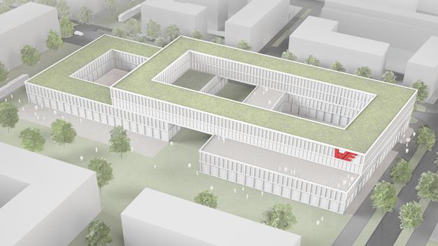 "Das ""HIC – Hightech Innovation Center"" von Würth Elektronic eiSos soll 2020 fertig sein."
