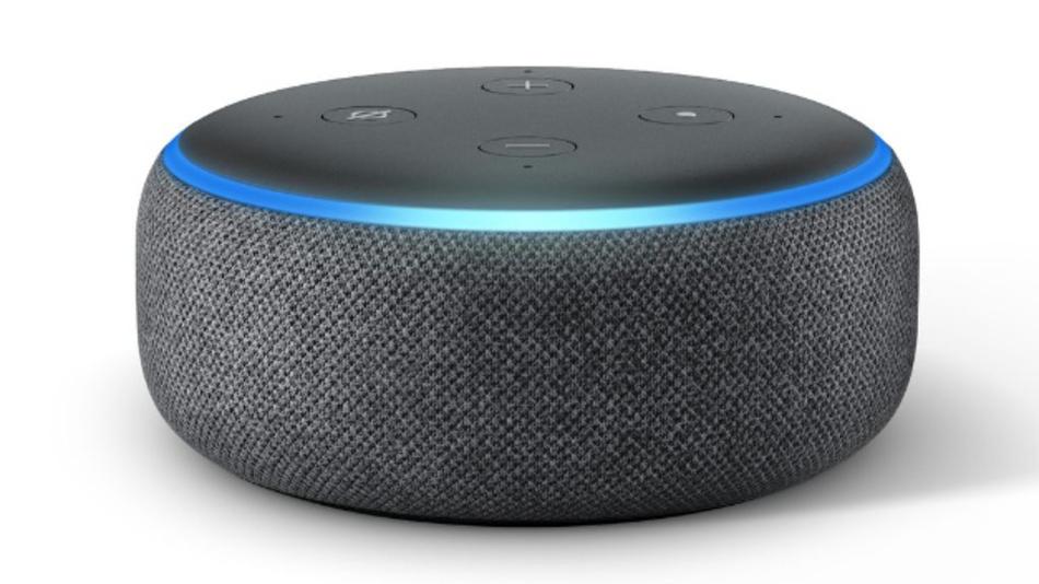 Echo-Gerät mit Spracherkennung von Amazon.