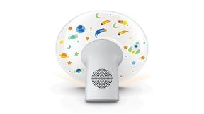 """Das Philips Wake-up Light für Kinder """"HF3503/01"""" ist zu einem Preis von 79,99 Euro (UVP) im Handel erhältlich."""