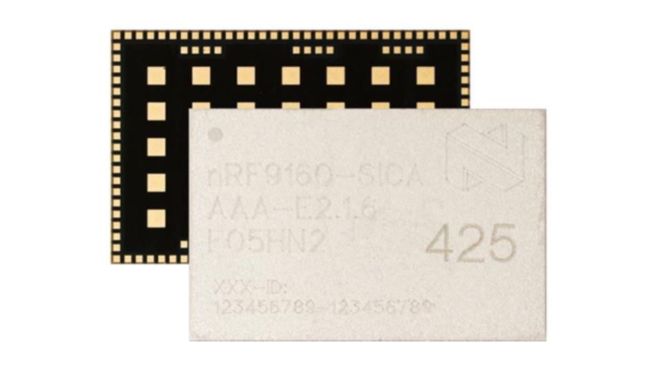 LTE-Modem, Mikrocontroller und Stromversorgung in einem System-in-Package: nRF9160 von Nordic Semiconductor