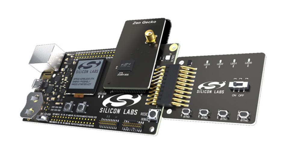 Entwicklungsmodul auf Wireless-Gecko-Basis für Z-Wave 700 von Silicon Labs