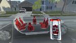 Flexibler Innenraum für das autonome Kraftfahrzeug