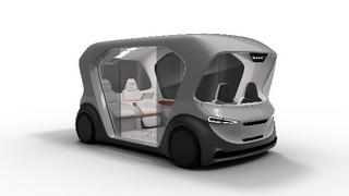Shuttle-Konzeptfahrzeug von Bosch