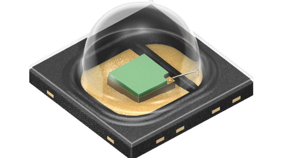 Eine Primäroptik sorgt in der SFH 4736 für eine doppelt so hohe Strahlstärke pro Fläche als im Vorgängermodell.