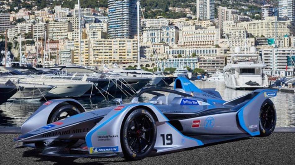 Der neue Venturi VFE-05 geht in der fünften Saison der FIA Formula E erstmals mit einem neu entwickelten, elektrischen Antriebsstrang von ZF an den Start.