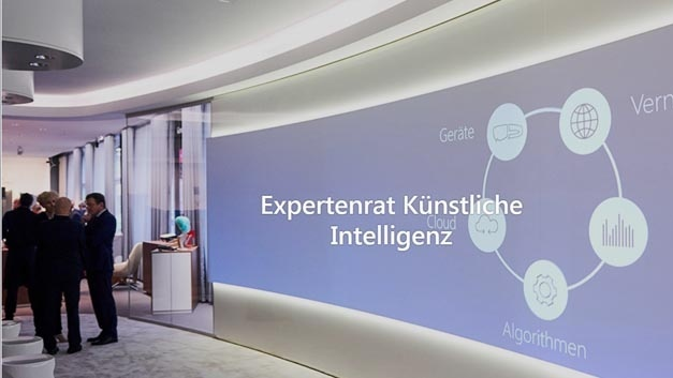 Auf Initiative von Microsoft kommt heute der aus Industrievertretern gebildete Expertenrate Künstliche Intelligenz zusammen.