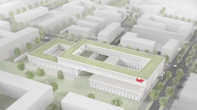Bis 2020 sollen in München-Freiham rund 13.700 qm Büro- und Laborflächen entstehen.