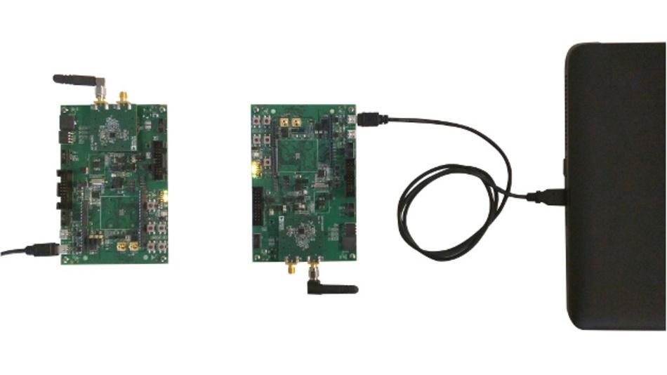 Bild 9: Hardware-Versuchsaufbau.