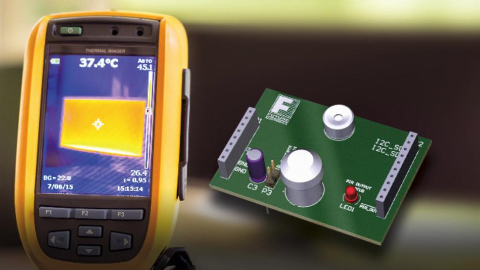 Das THERMALeye-Entwicklungskit für Wärmebild-Applikationen von Future Electronics basiert auf einer Arduino-Plattform.
