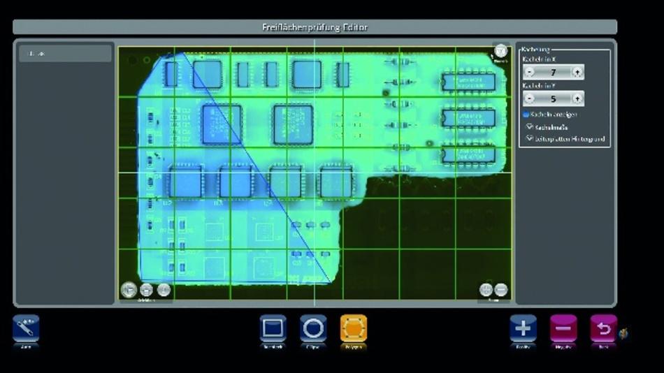 Für einen hohen Bedienkomfort an der S3088 CCI sorgt die Software vVision