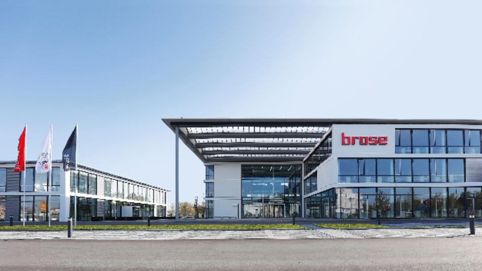 Der Brose Standort in Bamberg wurde sukzessive ausgebaut und ist eines der internationalen Headquarters des Automobilzulieferers.