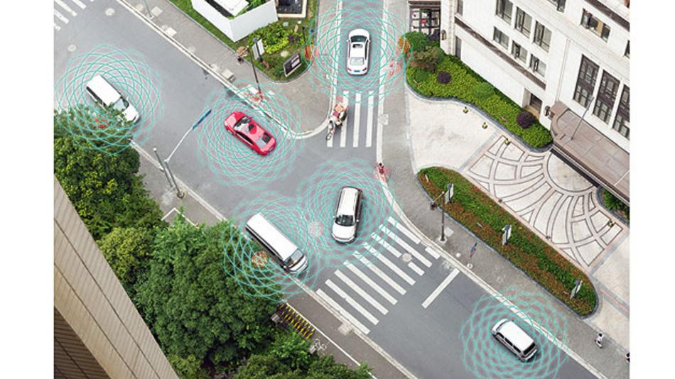 Bild 1. ADAS-Anwendung zur Verkehrs-steuerung mit Künstlicher Intelligenz