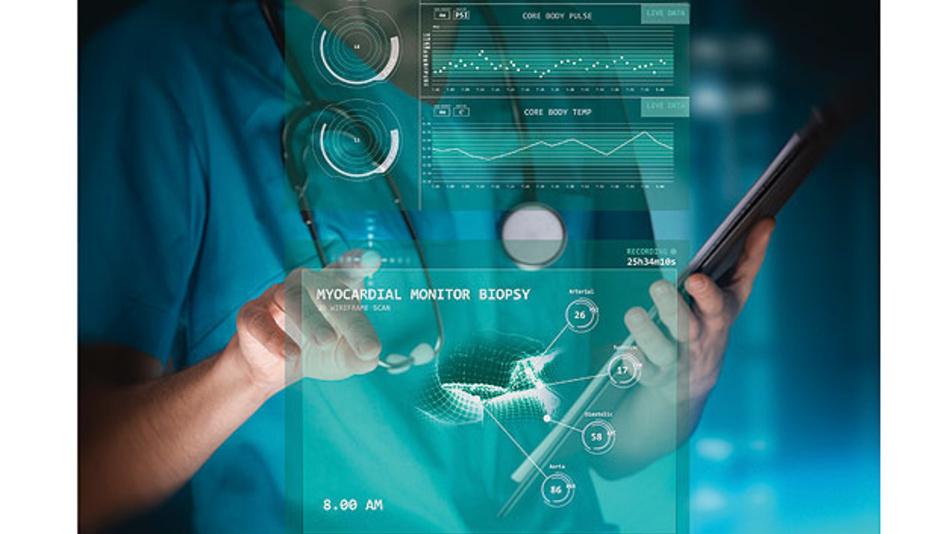 Bild 2. Medizinischer Einsatz der Künstlichen Intelligenz.