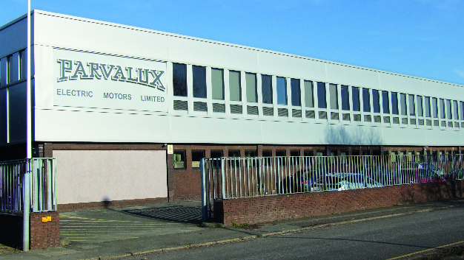 Der Sitz von Parvalux in Großbritannien.