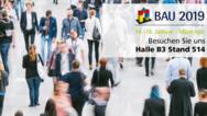 Messehinweis BAU München 2019