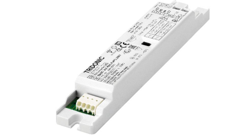 Notlicht-Betriebsgerät mit intelligentem Batterie-Management.