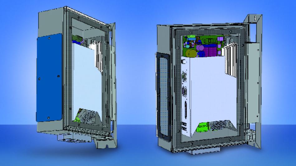 Sieb & Meyer hat die Frequenzumrichter-Serie SD2Sy um eine neue Stand-Alone-Ausführung mit Schutzart IP54 erweitert.