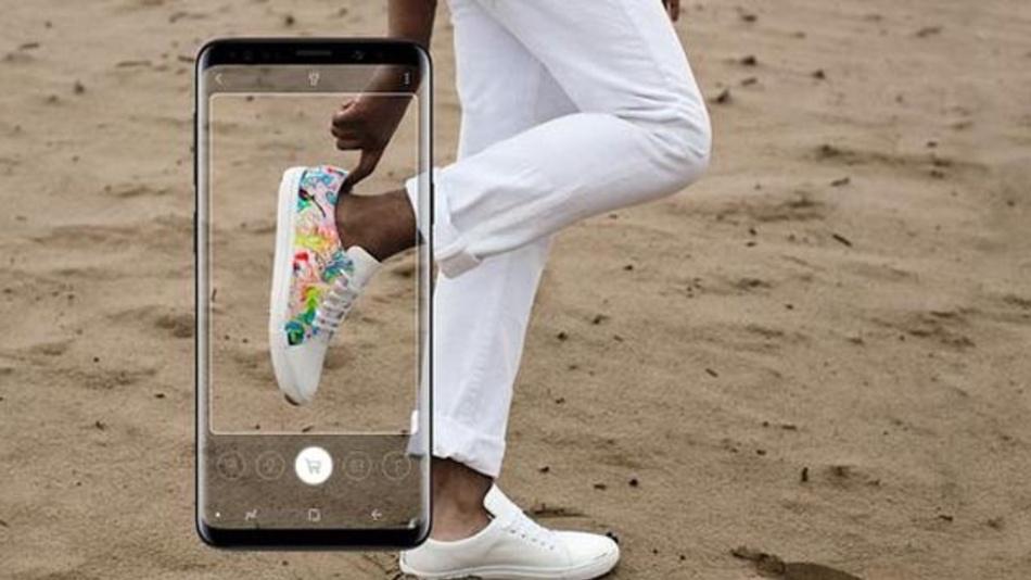 Die App Samsung Bixby Vision identifiziert Produkte anhand von Fotos.