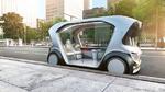 Autonomes Shuttle von Daimler und Bosch