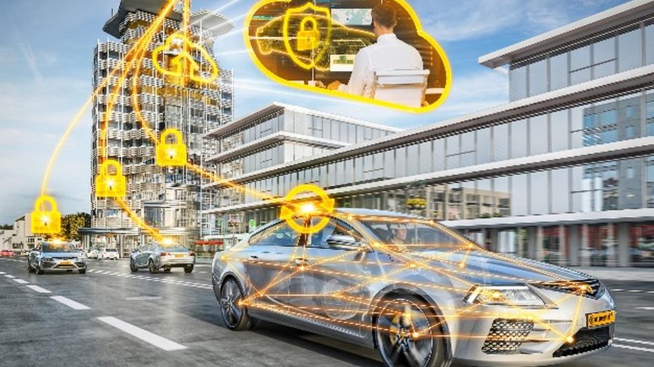Mit einer Ende-zu-Ende-Verschlüsselung schützen Continental, Elektrobit und Argus Fahrzeuge über deren gesamte Lebensdauer vor Hacker-Angriffen.