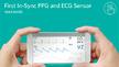Das Biosensormodul MAX86150 bietet eine synchronisierte PPG- und EKG-Überwachung.