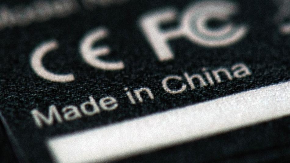 Gerät aus China mit CE-Kennzeichen. Während chinesische Unternehmen in Europa einen weitgehend freien Marktzugang genießen, gilt dies umgekehrt nicht.