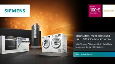 Kühlen, Waschen, Spülen und bis zu 100 Euro Cashback kassieren: Die Auftakt-Aktion 2019 liefern satte Ersparnisse für Käufer.