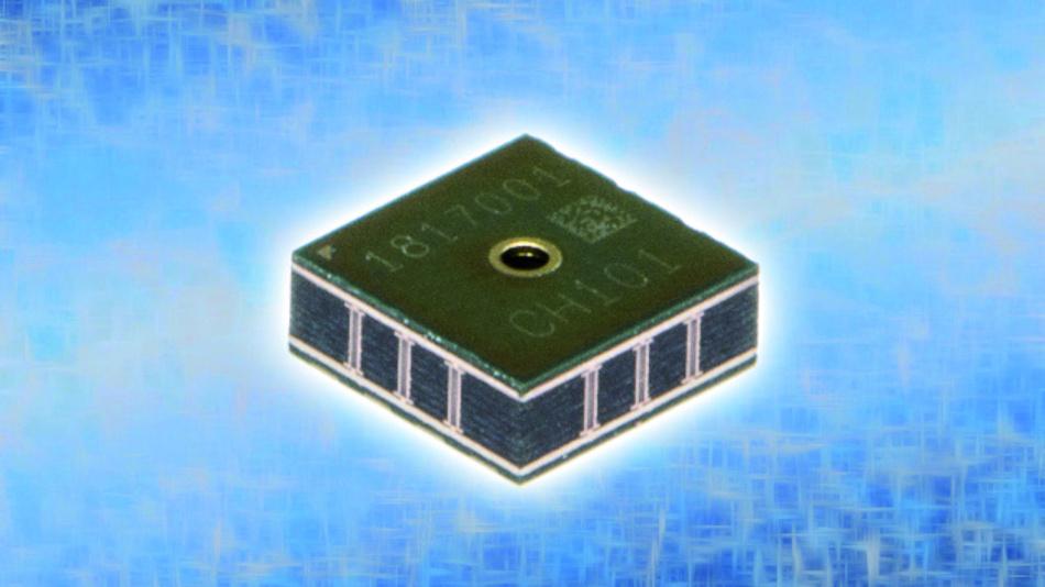 Ultraschall Entfernungsmesser I2c : Technologie offensive erster mems ultraschall tof sensor