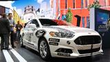 Roboterwagen von Ford auf der CES