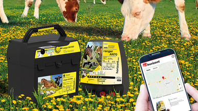 Die vielen Kontrollgänge über Wiesen und Weiden können sich die Landwirte mit Hilfe einer mobilen App der horizont group künftig sparen.