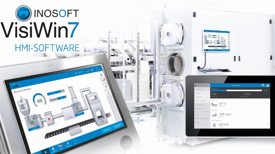Der Plain Style ist eine der Innovationen in Version 7 der HMI-Software VisiWin von Inosoft.